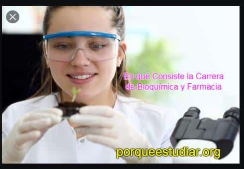 Carrera de Bioquímica y Farmacia