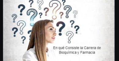 Carrera de Bioquímica
