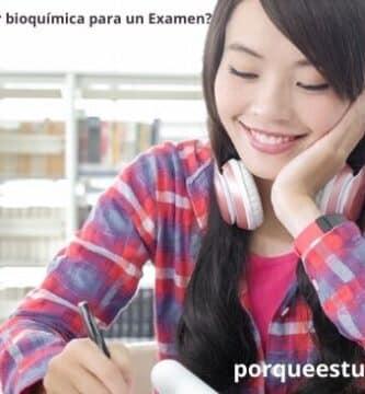 8 Pasos ¿Cómo estudiar bioquímica para un Examen?