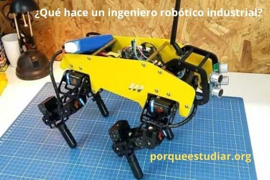 Qué hace un ingeniero robótico industrial
