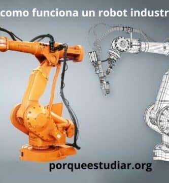 como funciona un robot industrial