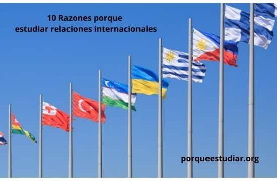 porque estudiar relaciones internacionales