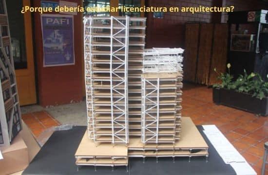 licenciatura en arquitectura