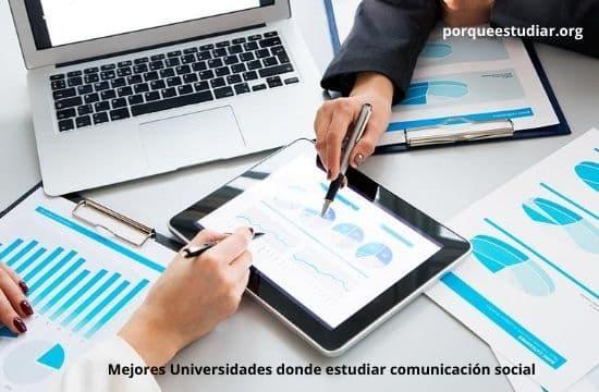 Mejores Universidades donde estudiar comunicación social