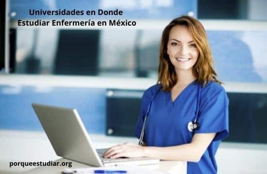 Universidades en Donde Estudiar Enfermería en México
