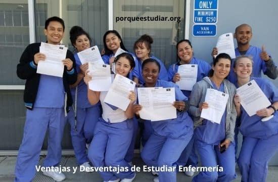 Ventajas y Desventajas de Estudiar Enfermería