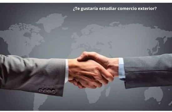 estudiar Comercio internacional