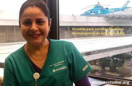 Escuelas para estudiar Medicina de emergencia en estados unidos