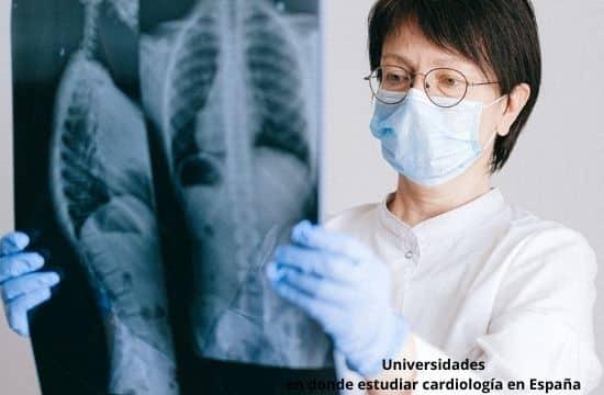 Universidades en donde estudiar cardiología en España