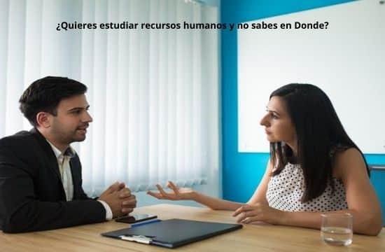 Escuelas y universidades en estudiar recursos humanos en estados unidos