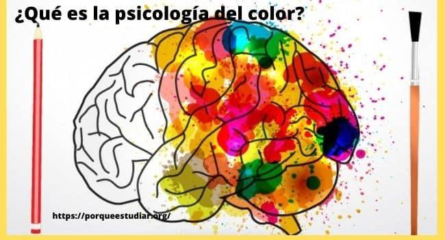 Qué es la psicología del color